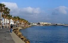 Отдых на Кипре, цены - Пафос, набережная
