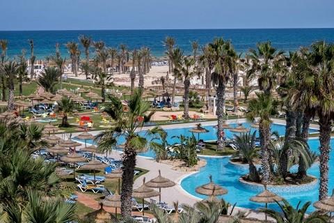 Oстров Джерба, Тунис - один из отелей Джербы