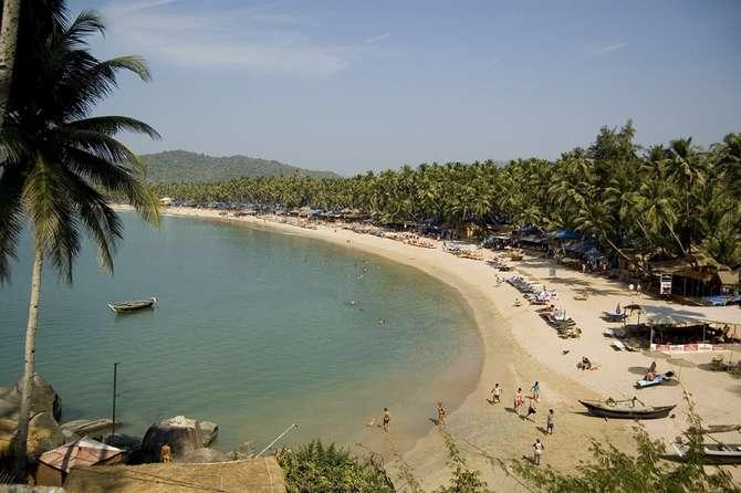 Отдых на Гоа, цены - пляж Палолем