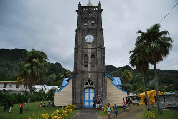 Отдых на острове Фиджи - город Левука