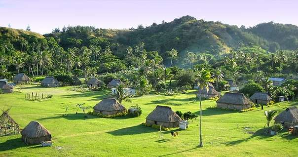 Отдых на острове Фиджи - Ловони