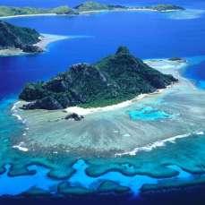 Отдых на острове Фиджи - остров Монурики