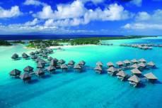 Острова Французской Полинезии - остров Бора-Бора.