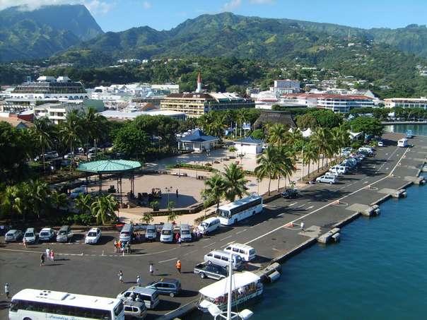 Острова Французской Полинезии - город Папеэте