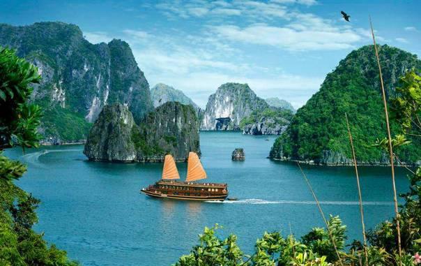 Лучшие острова Вьетнама для отдыха - бухта Халонг