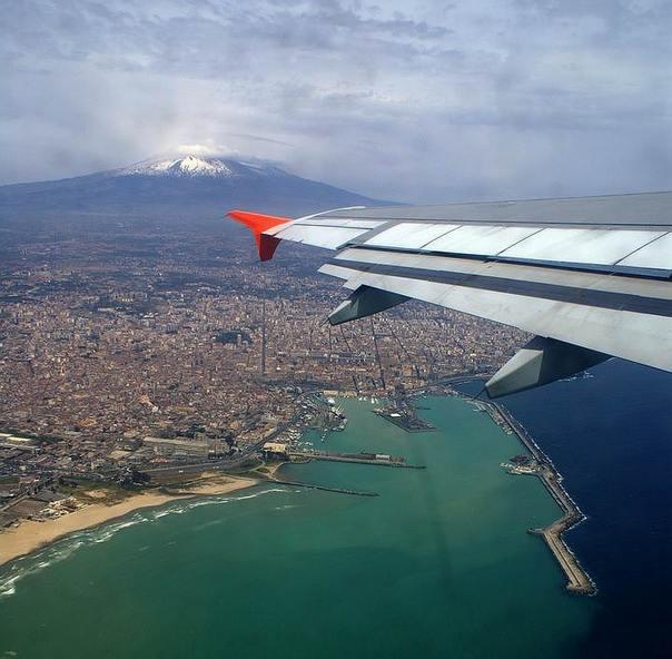 Сицилия с высоты птичьего полета