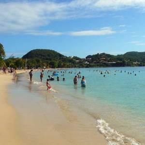 Отдых на острове Мартиника-пляжи в окрестностях Сент-Ан