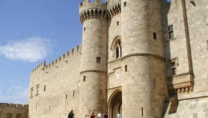Родосская крепость XIV века