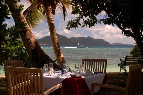 отдых на Сейшельских островах, остров Ла Диг - здесь есть шикарные отели