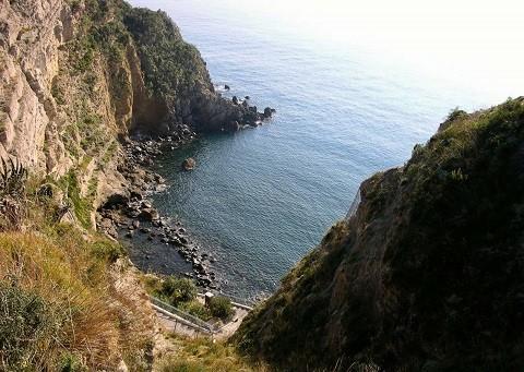 Отдых на острове Искья - бухта Байя ди Сорджето