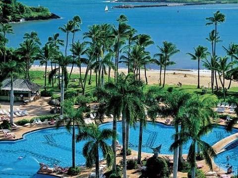 Отдых на Гавайских островах, юго-восточное побережье Кауаи