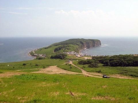 Отдых на острове Русском - мыс Вятлина в августе
