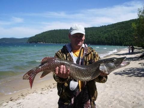 Отдых на острове Ольхон - рыбалка на Ольхоне