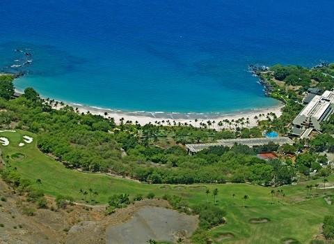 Отдых на Гавайских островах - пляж Hapuna