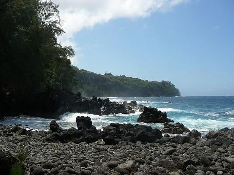 Отдых на Гавайских островах - Большой остров, побережье Хамакуа