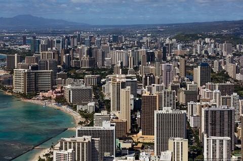 Отдых на Гавайских островах, Оаху, город Гонолулу