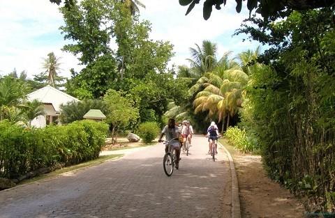 отдых на Сейшельских островах, остров Ла Диг - в глубинке