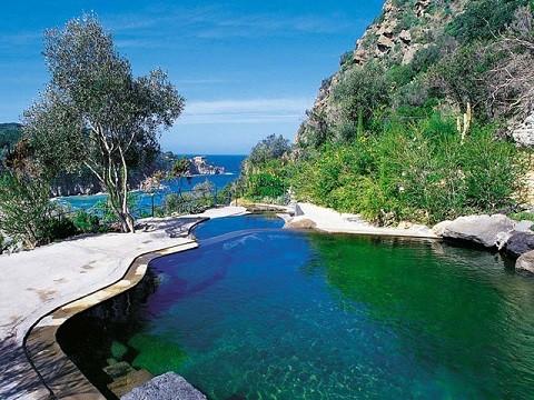Отдых на острове Искья - термальный парк Негомбо