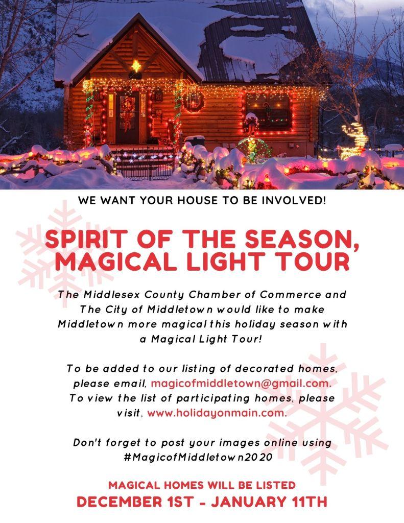 magical light tour