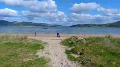Along the beach in Rathmullan