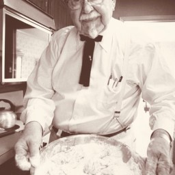 "Harland Sanders (1890-1980), ""Twenty Favorite Recipes of Colonel Harland Sanders"", 1954."