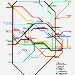"Boye Lafayette De Mente, ""Kodansha Tokyo Subway Guide"", 2002."