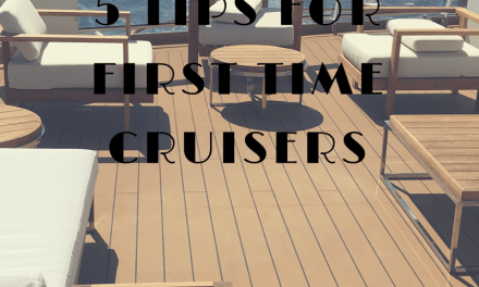 5 Tips For First Time Cruisers