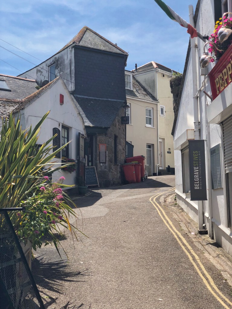 St Ives tight streets