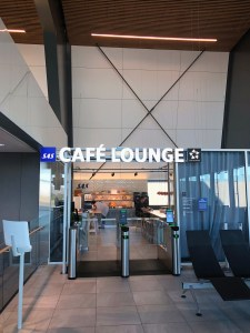 SAS Cafe Lounge at Bergen Airport