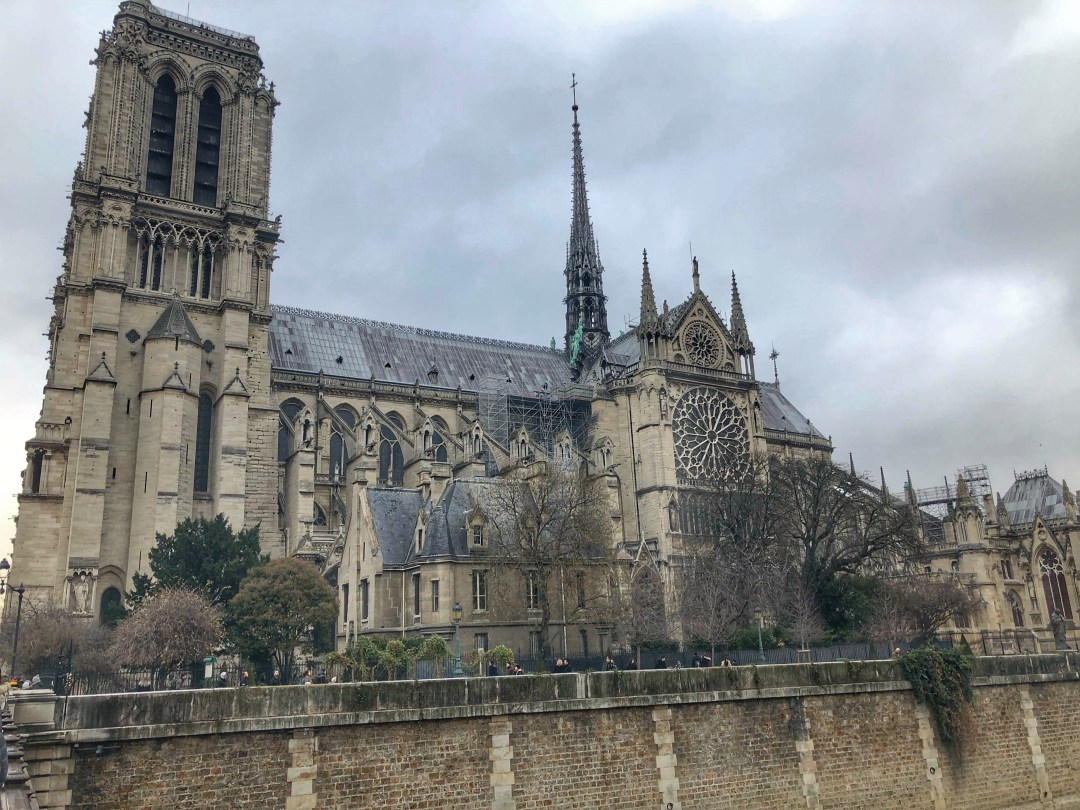 Notre Dane Cathedral photographed in December 2018