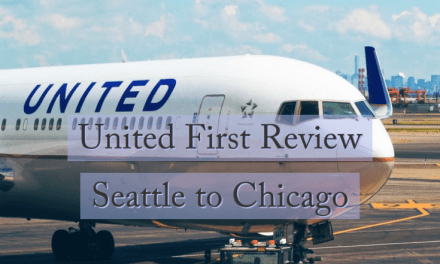 United First Review Seattle To Chicago