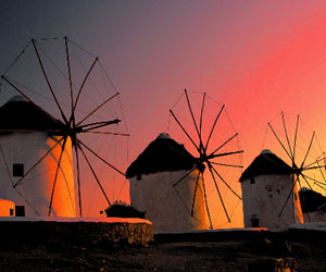 Hot spots Mykonos