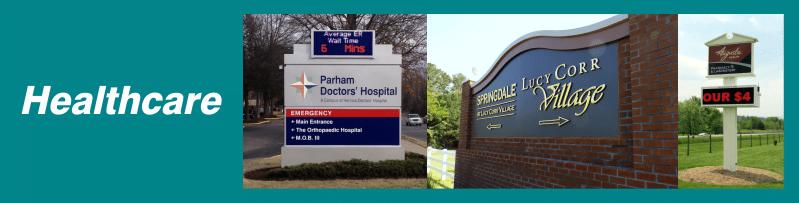 www.holidaysigns.com-richmond-va-south-boston-halifax-fishersville-lynchburg-haymarket-va-hospital-signage-wayfinding-branding-digital-message-boards-Daktronics-Watchfire-displays-healthcare