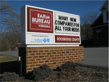 www.holidaysigns.com-richmond-va-cost-to-add-manual-message-board-to-existing-sign