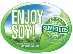 Soy Foods Month - is it ok to feed my puppy with adult food?