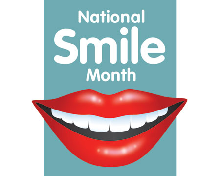 poll did you know it is national smile month?