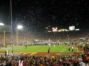 Rose Bowl Game - Can someone explain what the rose bowl is, and is the championship game ever played there? ?