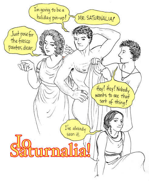 what did they do at saturnalia?
