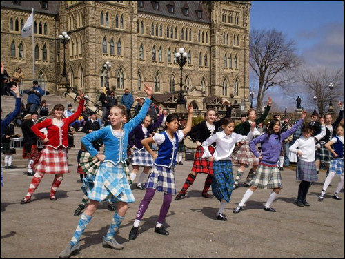 St Patrick Day, Tartan Day , what happened to English Americans ?