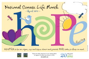 National Donate Life Month - it's National Donate Life Month!!! who do YOU plan to impregnate?!?!?