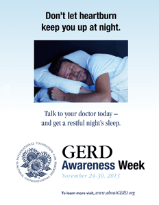 GERD Awareness Week - Please HelpRead. AnxietyDepression symptoms?