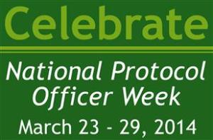 National Protocol Officer's Week - National Protocol Officer Week