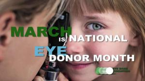 National Eye Donor Month - January is national what month in the US?