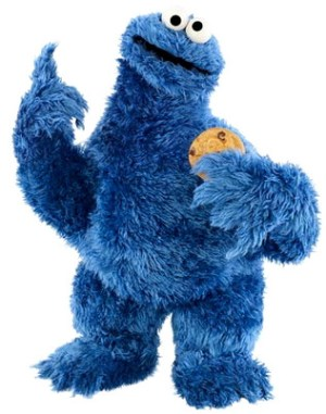 Cookie Monster Day - What is a hyperbole about Cookie Monster?