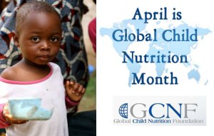 Global Child Nutrition Month - what is margaret mcmillan's theory on care needs for children?