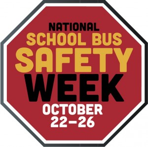 National School Bus Safety Week. Oct 21-27. How are you celebrating?