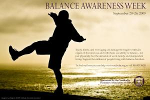 Balance Awareness Week - how can I BALANCE it all?