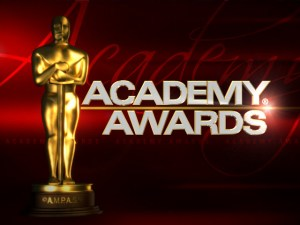 Academy Awards Night - At the Academy Awards last night.?