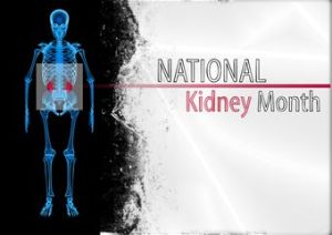 National Kidney Month - what are some random national days?