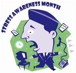 Stress Awareness Month - Is there a certain awareness cause every month?
